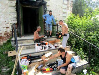 Компания «Позитек-Евразия» пожертвовала Фонду профессиональные инструменты